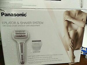 PANASONIC CORDLESS SHAVER & EPILATOR FOR WOMEN WITH 7 ATTACHMENTS FREE SHIPPING