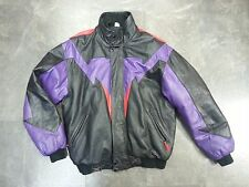 Men's Leather Insulated Jacket CKX International Winter Snowmobile Jacket L