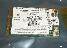 HP Intel PRO DV Series Mini-PCI Express 802.11a/b/g Wireless LAN WLAN 407674-001