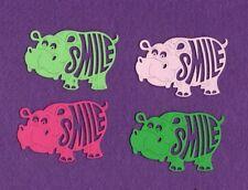 HIPPO SMILE  zoo animal die cuts scrapbook cards