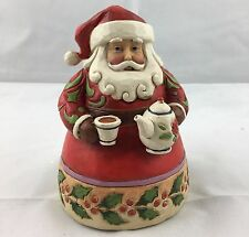 Jim Shore Heartwood Creek Cup of Christmas Cheer Santa #4022910 Nib-Opened