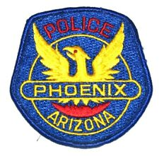 PHOENIX ARIZONA AZ Sheriff Police Patch RISING FROM FLAMES CAPITAL CITY USED ~