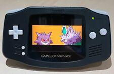 IPS V2 Backlit Backlight Game Boy Advance Console Black New  New Refurbished GBA
