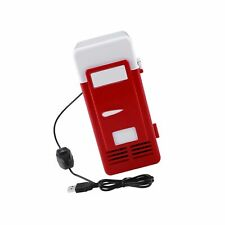 Mini Usb Refrigerator Cooler Beverage Drink Cans Refrigerator and Heater for .