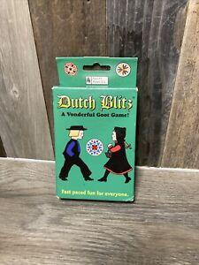 "NEW Open Box ""Dutch Blitz"" Original Pack Vonderful Card Game: 2-8 Players Age 8+"