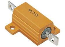 Welwyn WH5 Serie Aluminio alojado Soldadura lug Panel Mount Resistor 560mΩ ± 2% 10W