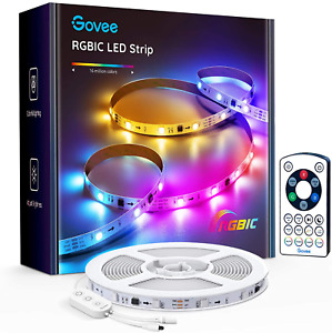 Govee RGBIC LED Strip Lights, 16.4FT LED Lights with Remote Control, 11 Scene Mo