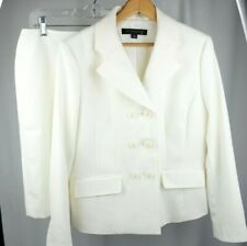 Anne Klein 2 piece Suit Jacket Coat With Skirt size 10P Double Buttons NWT $280