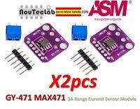 2pcs GY-471 3A Range Current Sensor Module MAX471 Module