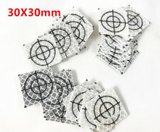 "100PCS REFLECTOR SHEET REFLECTIVE TAPE TARGET TOTAL STATION 30X30MM(1.18x1.18"")"