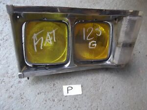 Fiat 125 L/H Complete headlamp pod with lights .1300+Citroen parts in shop