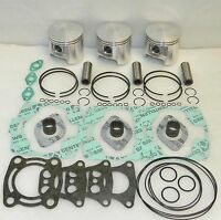 WSM Polaris 1200 Top End Piston Rebuild Kit PWC 010-835-24 - 1mm SIZE 2201706