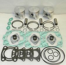 WSM Polaris 1200 Top End Piston Rebuild Kit PWC 010-835-20 OE  2201452, 2201706