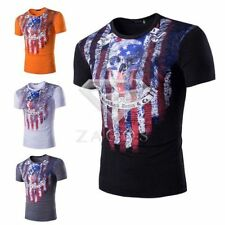 Unbranded Cycling Solid T-Shirts for Men