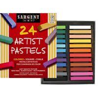 Sargent Art Artist Pastels - 24-Color Set  - 24-Color Set
