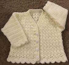 Crochet Cardigan Pattern For Baby/Child (Birth - 6 years) in DK (1010)