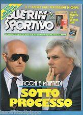 GUERIN SPORTIVO-1991 n.12- SACCHI-MAIFREDI-BERTI-CARRERA- NO INSERTO E QUADERNO