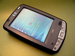 HP PAQ hx2490C PDA & Accessories with BRAND NEW BATTERY FITTED