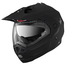 Caberg Tourmax Flip Up/front Motorcycle Motorbike Crash Helmet - Matt Black XS 0529410