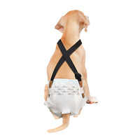 Paw Inspired Washable and Disposable Dog Diaper Suspenders | Keep Dog Diapers on