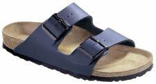 Birkenstock Sandale Arizona Blau Birko-Flor Schmal Unisex