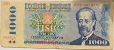 More details for 1985 czechoslovakia 1000 korun banknote
