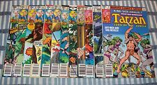 Lot of 12 Tarzan Lord of the Jungle from #3 to 27 with Annuals from 1977 up