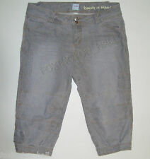 BEAUTIFUL SASS&BIDE GREY KNICKERBOCKERS JEANS 30 (AUS 12) beauty in imperfection