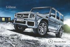 Prospekt 4 12 Mercedes G-clase 16.2.11 brochure 2011 2012 todoterreno auto automóviles