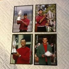 Tiger Woods - 2001 Sports Card Investor - set of 4 cards