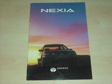 34861) Daewoo Nexia Österreich Prospekt 1994