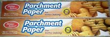 (2 ROLLS) Parchment Paper Nonstick Baking Paper - Cooking Pizza, Etc 50 FT