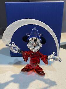 Swarovski Sorcerer Mickey Mouse Disney 2014 Annual Edition Figurine 5004740