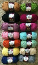 Lion Brand 24/7 Cotton Yarn by Lion Brand Pick Color