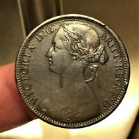 1862 Great Britain Penny KM# 749.2