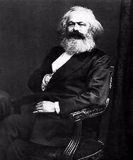 Karl Marx Communist Communism Marxism Portrait  Photo Reprint 6x5 Inch 72