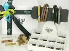Jennifer Lopez ENDLESS Jewelry 925 Sterling Silver 10 Charm 4 Bracelet Gift Set