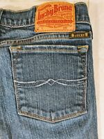 Lucky Brand Womens Boot Cut Jeans Size 6 / 28 Medium Wash