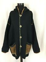 HIMALAYA Damen Oversize  Jacke Kurz Mantel Gr.L 100 % baumwolle