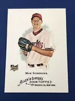 2008 Topps Allen & Ginter MAX SCHERZER Rookie Card #297 RC Nationals 2020