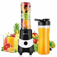 Portable Blender & Smoothie Maker Mini Electric Mixer 2 sports bottle included