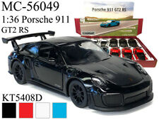 "New Kinsmart Diecast Car 5""  PORSCHE 911 GT2 RS CHOOSE A COLOR Pull Back"