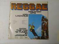 Ken Lazarus - Reggae Greatest Hits - Vinyl LP 1970