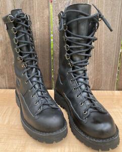 "Danner Fort Lewis 10"" Women's 9.5 M Black Leather Combat / LEO Boot Gore-Tex New"