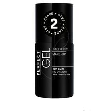 TOP COAT PERFECT GEL SANS LAMPE UV TENUE 11 JOURS FASHION MAKE-UP
