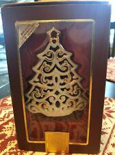 LENOX Bright Christmas Tree VOTIVE Candle Holder SKU #760569 Vintage Collectable