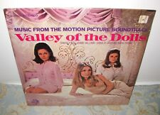 Valley Of The Dolls Orig Soundtrack Lp Dory & Andre Previn/Sharon Tate Sealed!