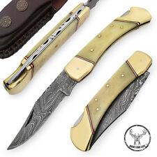 """Hunt For Lifeâ""""¢ Lockback Walker Hound Pocket Camping Hunting Outdoor Knife"""