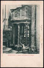 cartolina BENEVENTO amponi nell'interno del duomo