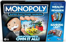 MONOPOLY SUPER ELECTRONIC BANKING BOARD GAME NEW